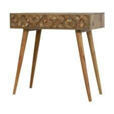 Tile Carving Mango Console Table