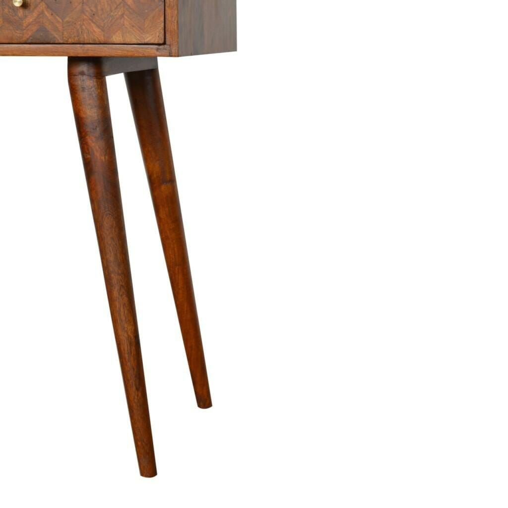 Assorted Chestnut Console Table Mango Wood
