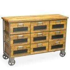 Urban 9drw apothecary chest