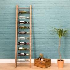 Urban Leaning 9 bottle Wine Rack