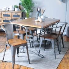 Urban Rectangular Dining Table x6 Chairs