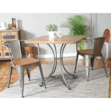 Urban Square Cafe Table x2 Chairs (80x80)