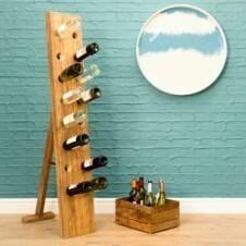 Urban Wine Bottle Display Rack