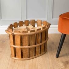 Urban Wooden Storage Basket