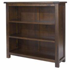 Boston Pine Low Bookcase