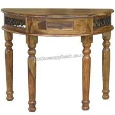 Jali Bow Console Table