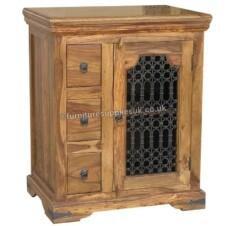 Jali HIFI Unit & Telephone Table
