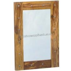 Jali Mirror With Ironwork