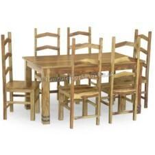 Jali Ruby 150cm Dining Table With 6 Chairs