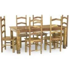 Jali Ruby Dining Table 8 Chairs 180cm