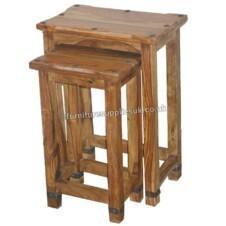 Jali Ruby Sheesham Nest of Tables