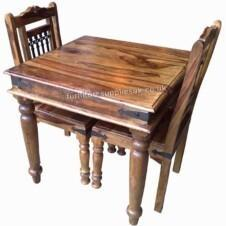 Jali Square Dining Table 80cm