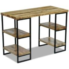 Office Desk Mango Wood 110x50x76 cm