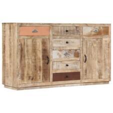 Sideboard 150x40x85 cm Solid Mango Wood