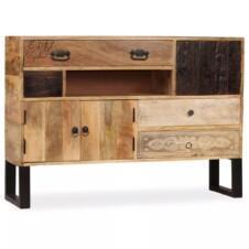 Sideboard Solid Mango Wood 115x30x80 cm