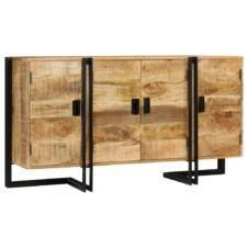 Sideboard Solid Mango Wood 150x40x80 cm