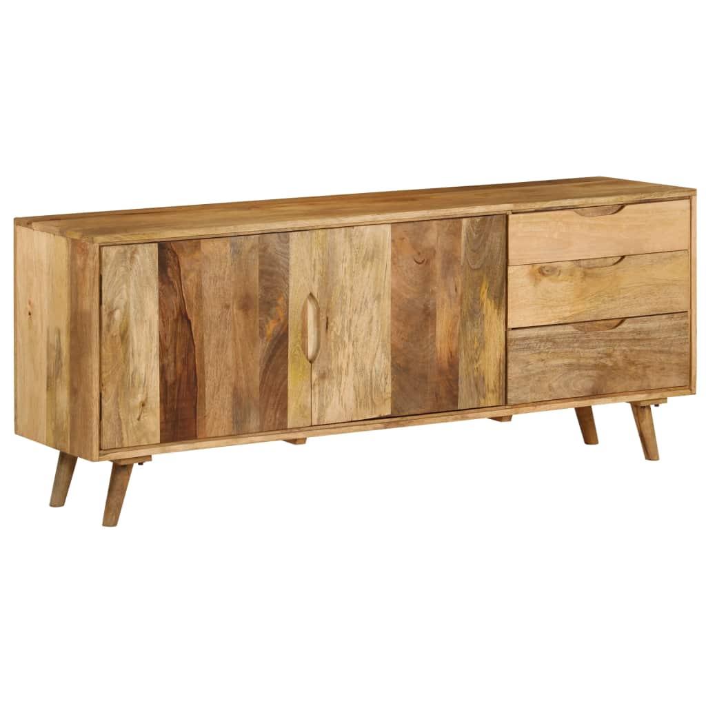 Sideboard Solid Mango Wood 170x40x70 cm