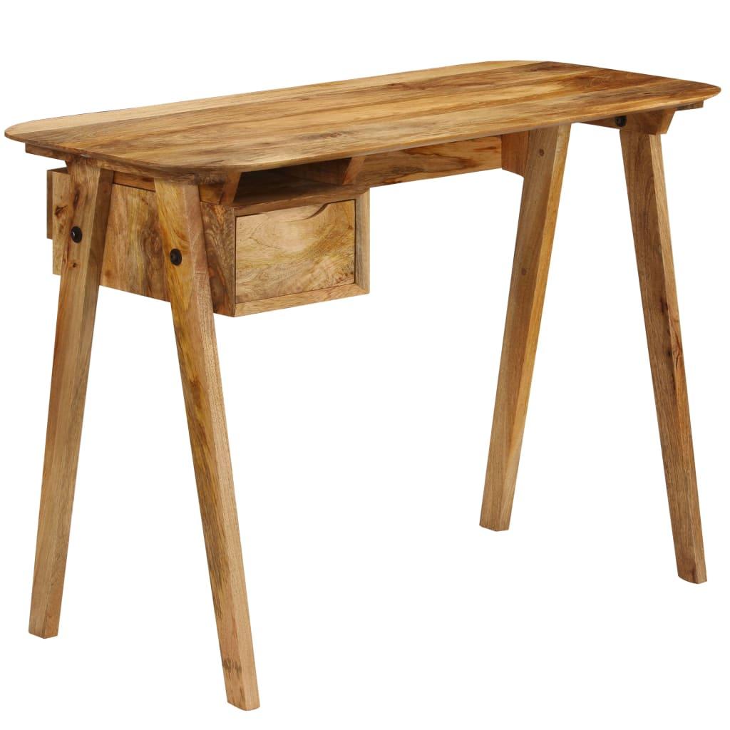 Writing Desk 110x50x76 cm Solid Mango Wood