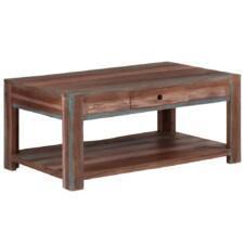 Coffee Table Solid Wood Vintage 88x50x38 cm