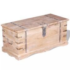 Storage Chest Acacia Wood