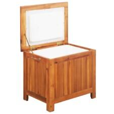 Ice Box Solid Acacia Wood 63x44x50 cm