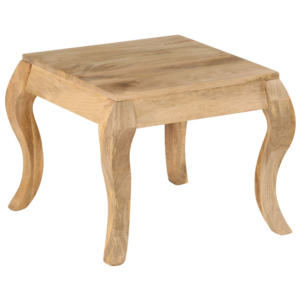 End Table 45x45x40 cm Solid Mango Wood
