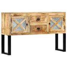 Sideboard 120x30x74 cm Solid Mango Wood