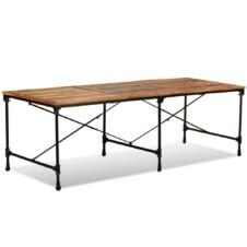 Dining Table Solid Reclaimed Wood 240 cm