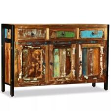 Sideboard Solid Reclaimed Wood 120x35x76 cm