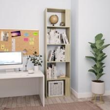 Book Cabinet/Room Divider Sonoma Oak 45x24x159 cm Chipboard