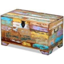 Storage Chest Solid Reclaimed Wood