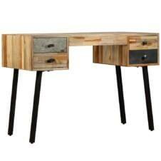 Writing Desk Solid Reclaimed Teak 110x50x76 cm