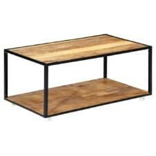 Coffee Table 90x50x40 cm Solid Reclaimed Wood