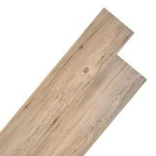 PVC Flooring Planks 5.26 m² 2 mm Oak Brown