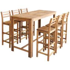 Acacia Wood Bar Sets