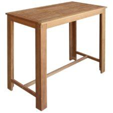 Acacia Wood Bar Tables