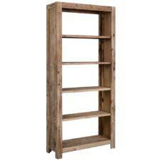 Acacia Wood Bookcases