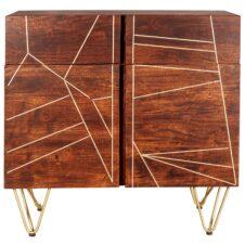 Indian Hub Mango Dark Gold Furniture