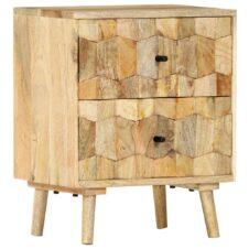 Mango Wood Bedside Tables