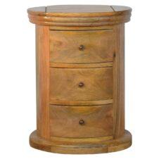 Mango Wood CD & DVD Storage Cabinets, Drawers, Towers & Racks.
