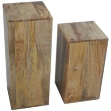 Mango Wood Lamp Tables
