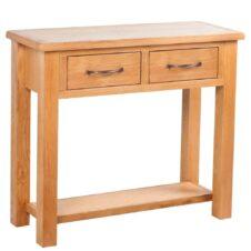 Oak Wood Console Tables