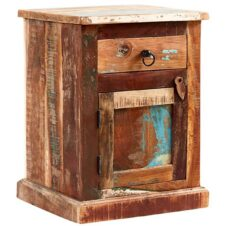 Reclaimed Wood Bedside Tables