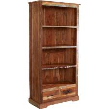 Solid Reclaimed Wood Bookcases