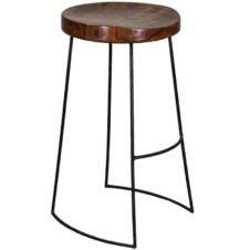 Sheesham Wood Bar Stools