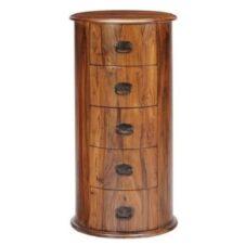 Sheesham Wood CD DVD Storage