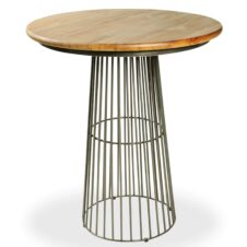 Urban Industrial Furniture Solid Mango & Metal Frame.