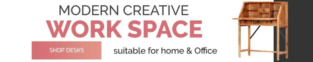 Shop Desks for Home & Office